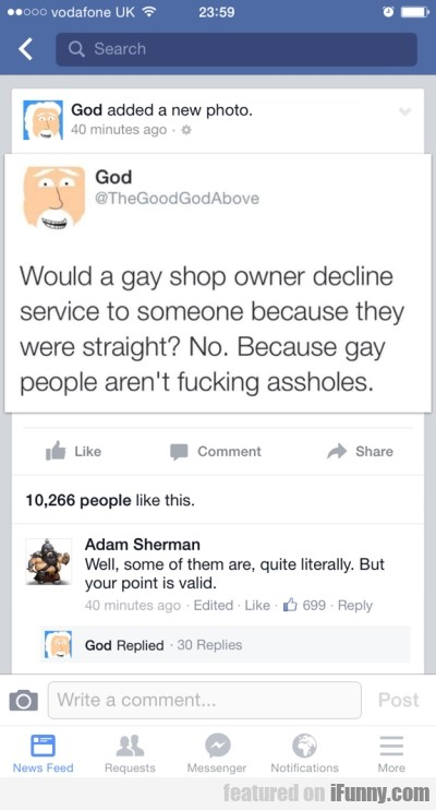 Would A Gay Shop Owner