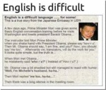 English Is Difficult...