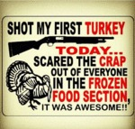 Shot My First Turkey...