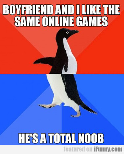 Boyfriend And I Like The Same Online Games...