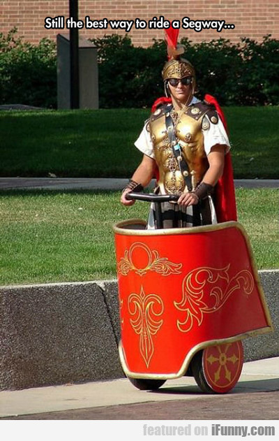 still the best way to ride a segway...