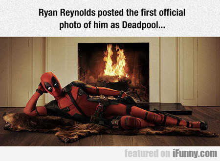Ryan Reynolds Posted The First Official...