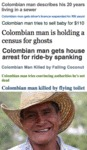 Colombian Man Describes His 20 Years...