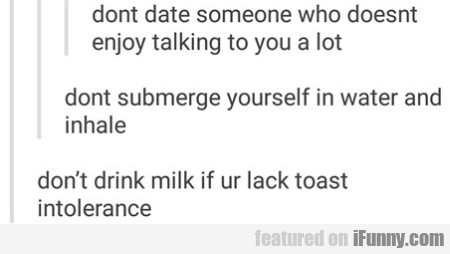 dont date someone who doesnt