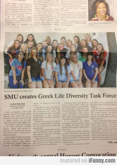 SMU creates Greek life diversity task...