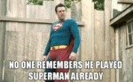 No One Remembers He Played Superman Already...