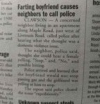 Farting Boyfriend Causes Neighbors To Call....