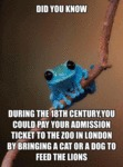 Did You Know During The 18th Century...