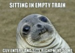 Sitting In Empty Train...