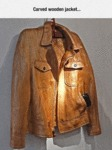 Carved Wooden Jacket...