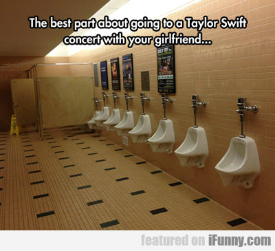 The Best Part About Going To A Taylor Swift...