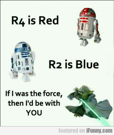 R4 Is Red, R2 Is Blue...