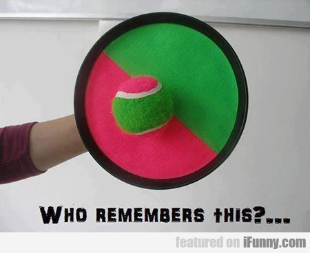 Who Remembers This?