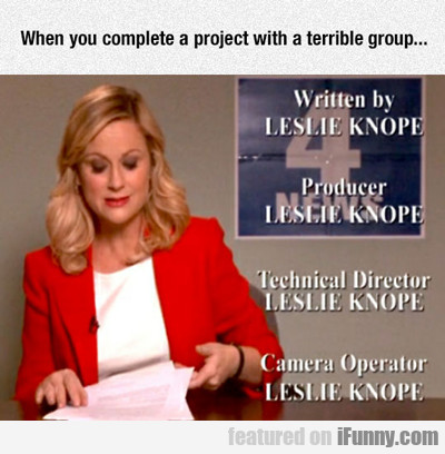 When You Complete A Project With A Terrible...