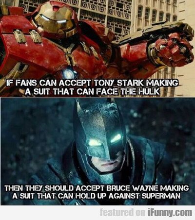 If Fans Can Accept Tony Stark...