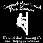 Support Your Local Pole Dancer...