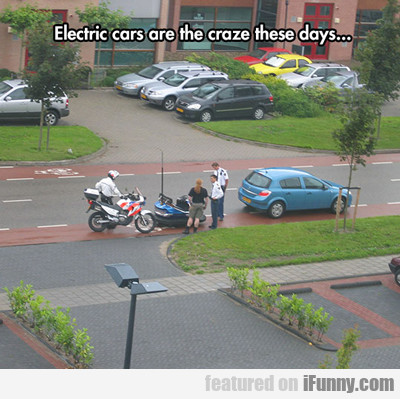 Electric Cars Are The Craze These Days...