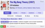 The Big Bang Theory, 159 Mistakes...