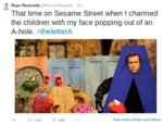 That Time On Sesame Street...