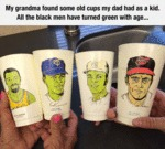 My Grandma Found Some Old Cups...