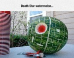 Death Star Watermelon...