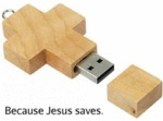 Because Jesus Saves...