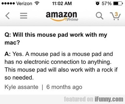 Will This Mouse Pad Work