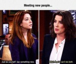 Meeting New People...