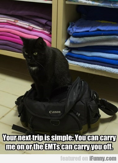 Your Next Trip Is Simple - You Can Carry..
