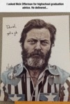 I Asked Nick Offerman For High School...