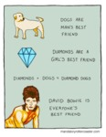 Dogs Are Man's Best Friend. Diamonds Are A...