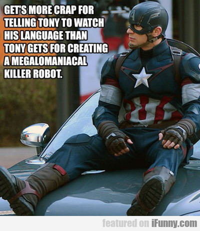 Gets More Crap For Telling Tony To Watch His...