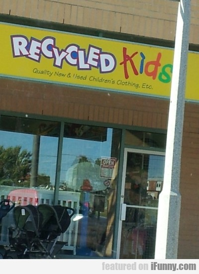 Recycled Kids Quality New