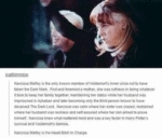 Narcissa Malfoy Is The Only Known