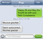 Happy 60 And May The Fourth Be With You