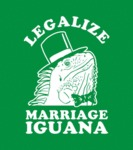 Legalize Marriage Iguana...