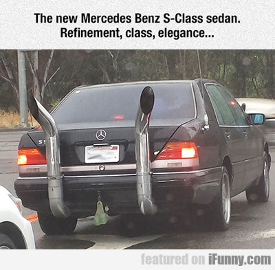 The New Mercedes Benz S-class...