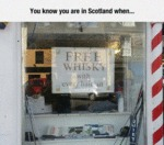 You Know You Are In Scotland When...