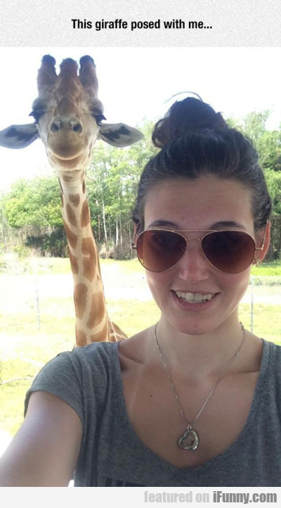 Selfie With The Giraffe