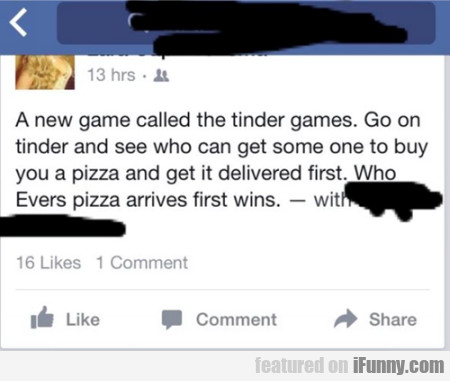 A New Game Called The Tinder Game