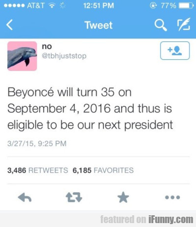 Beyonce Will Turn 35...
