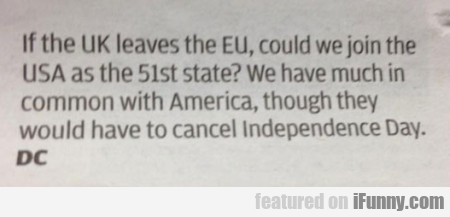 If The Uk Leaves The Eu...