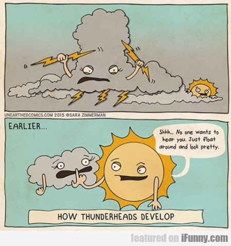 How Thunderheads Develop