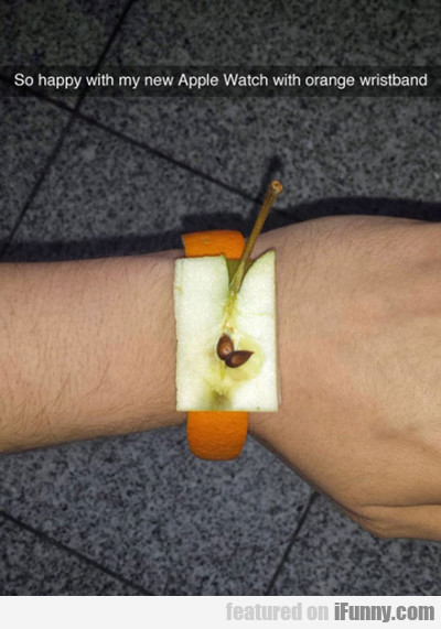 So Happy With My New Apple Watch...