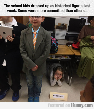 The School Kids Dressed Up As Historical Figures