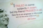 I Failed In Some Subjects In Exam...