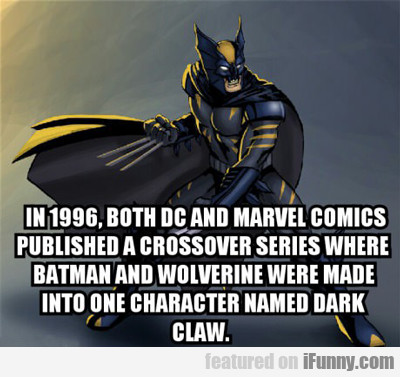 in 1996, both dc and marvel comics...