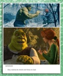 They Wanna Be Shrek And Fiona So Bad...