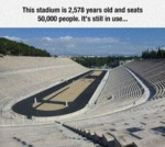 This Stadium Is 2,578 Years Old...