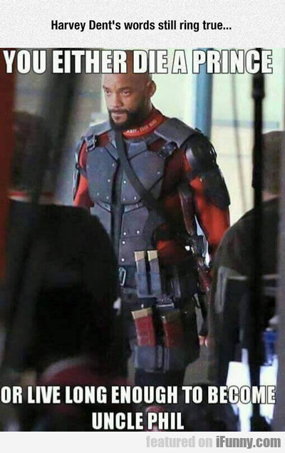 Harvey Dent's Words Still Ring True...